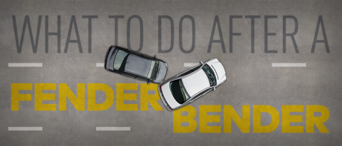 Learn how to be prepared for a fender bender