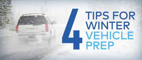 Prep your vehicle for winter with these 4 tips