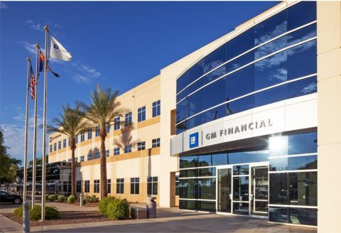 GM Financial office building in Chandler, AZ